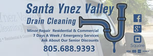 Santa Ynez Valley Drain Cleaning